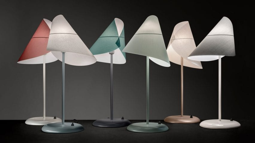 A group of La Lune Sous Le Chapeau table lamps