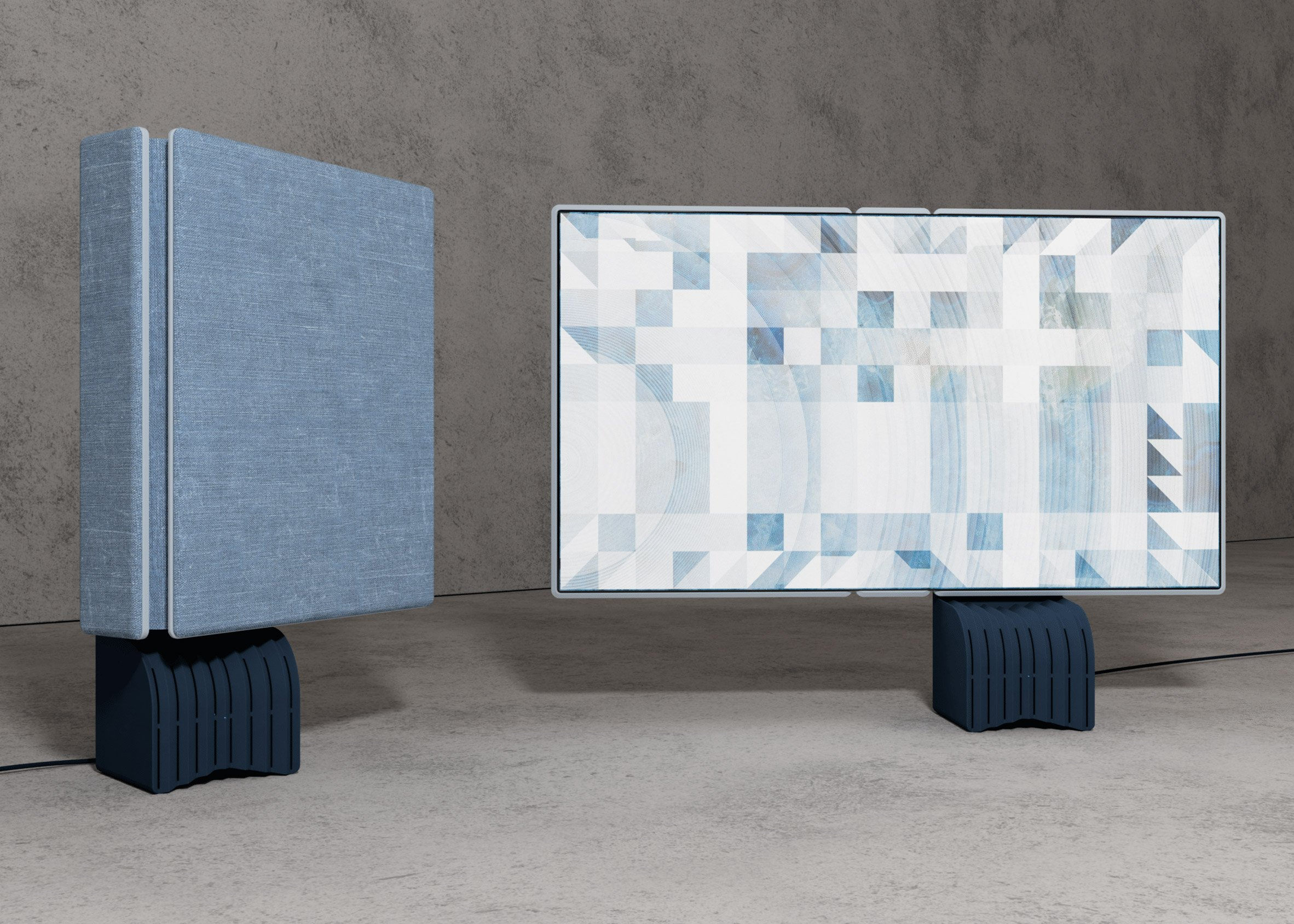 Signal by Jean-Michel Rochette was awarded second place in the OLEDs Go! competition