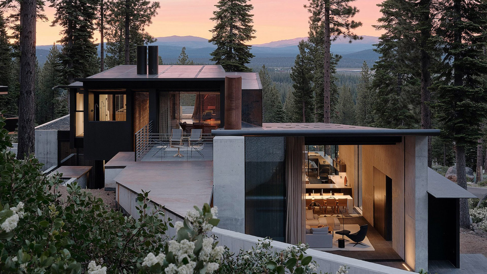 Five of the best houses near Lake Tahoe in the US