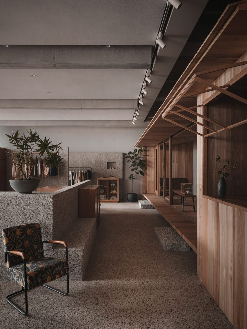 Overview of Lost & Found Hangzhou store