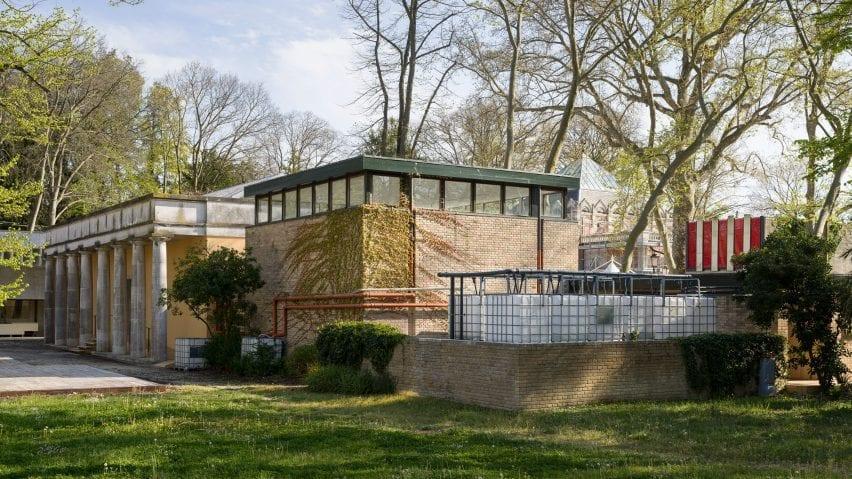 Exterior view of the Danish Pavilion