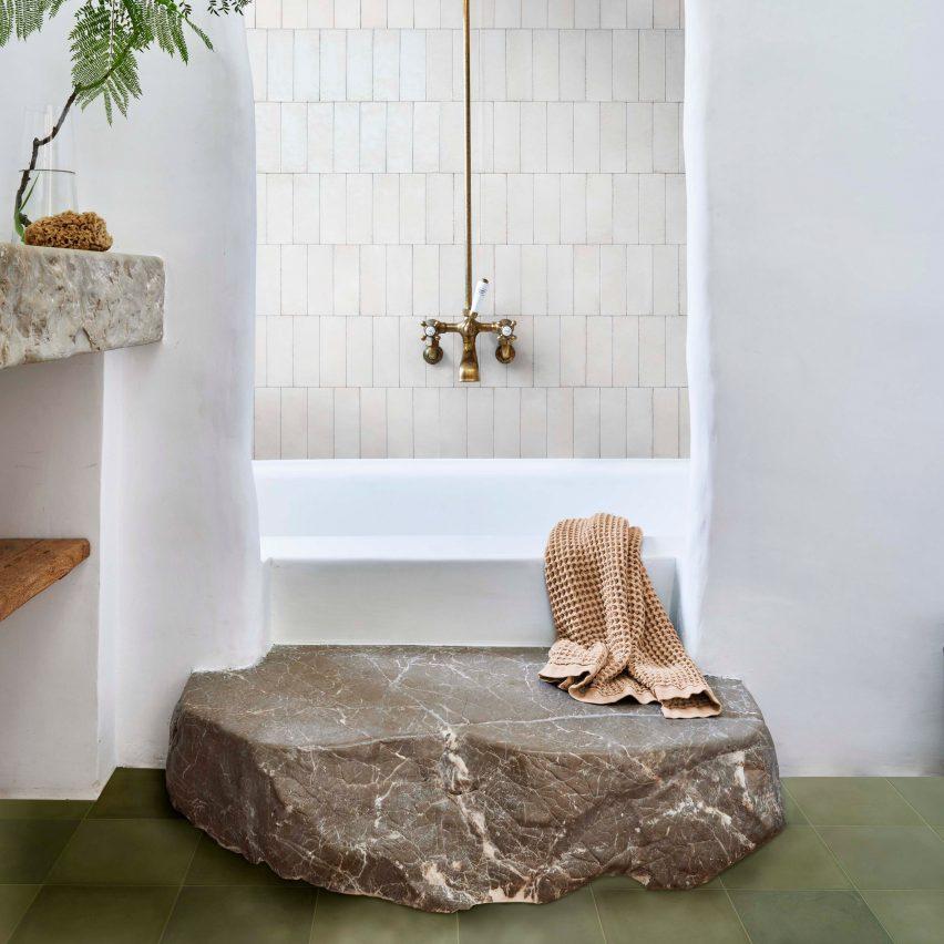 Marazzi showcases handmade ceramic and porcelain tiles on Dezeen Showroom