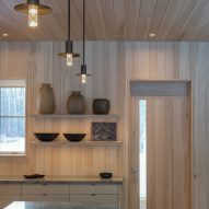 Spruce-clad home in Idaho