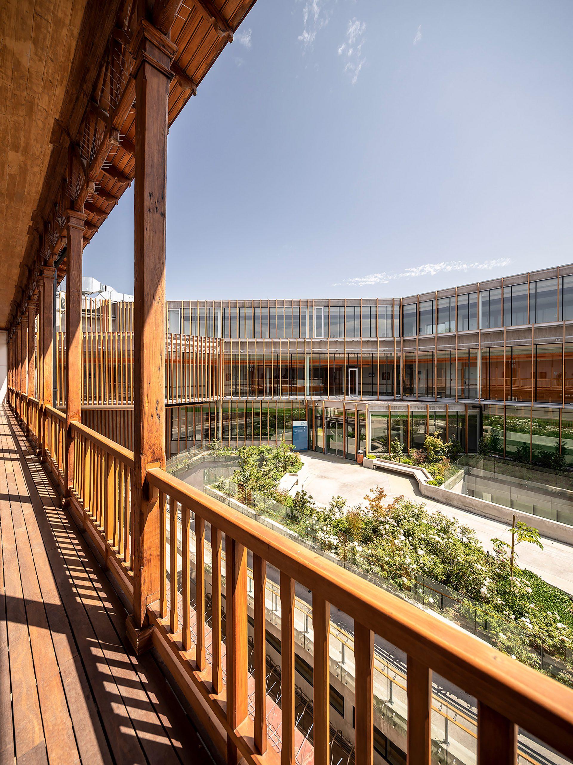Luis Vidal + Architects designed the complex
