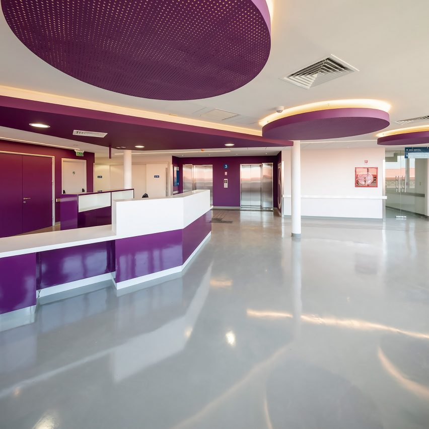 A health facility was included in the new building