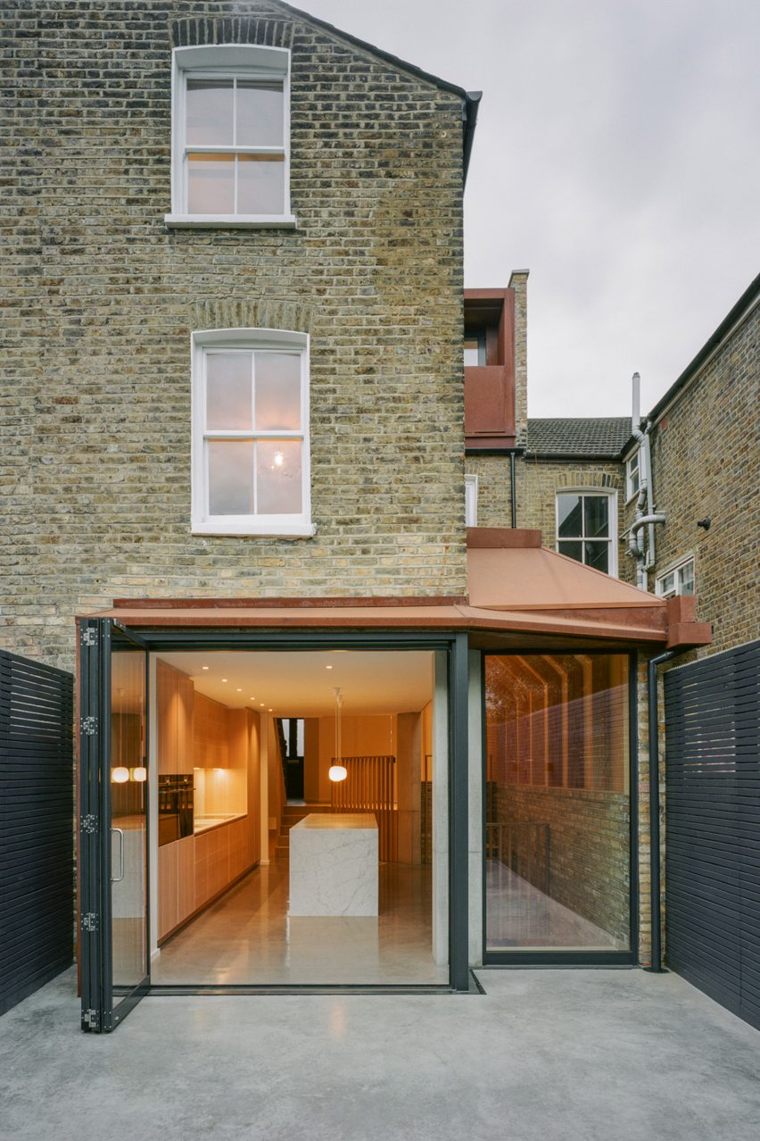 Matthew Giles Architects designed the project