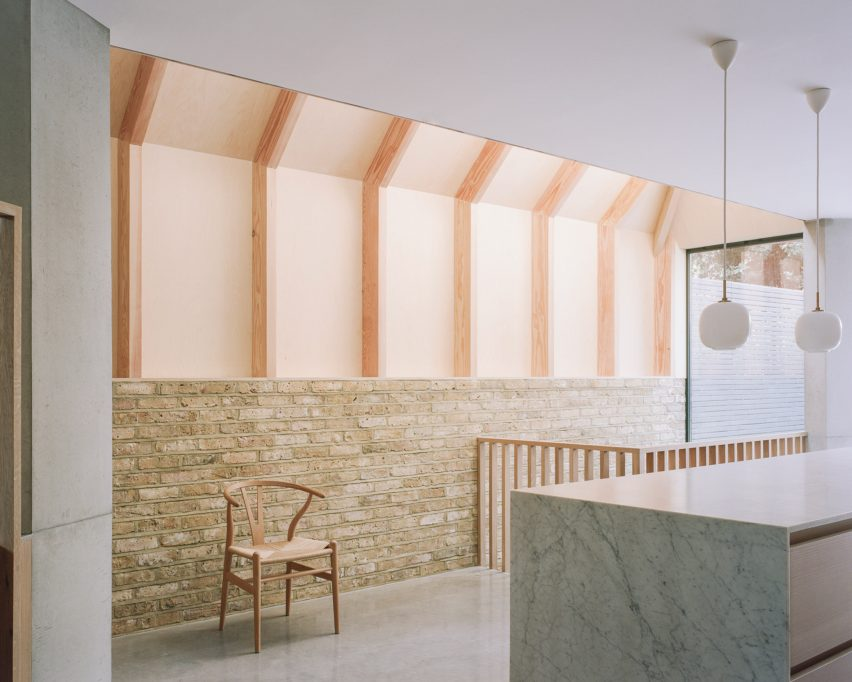 Matthew Giles Architects designed the London townhouse