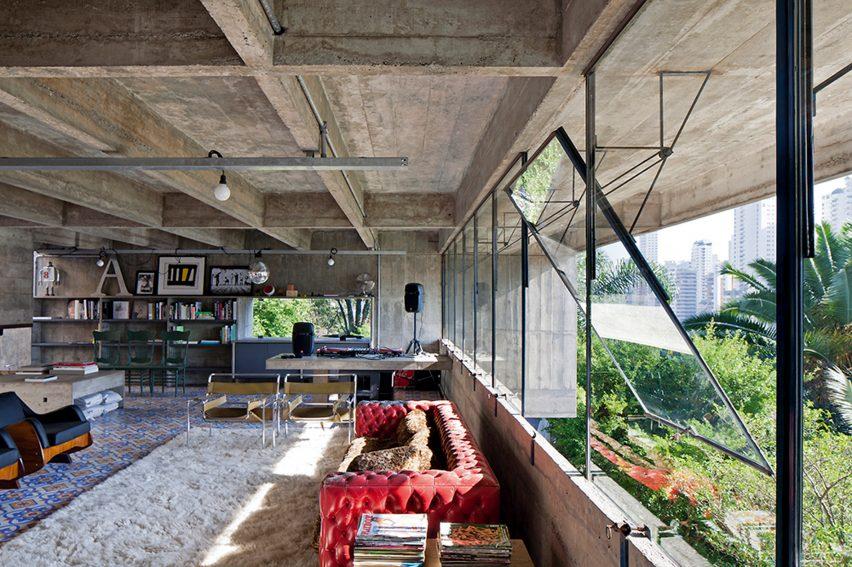 A private home in Sao Paulo