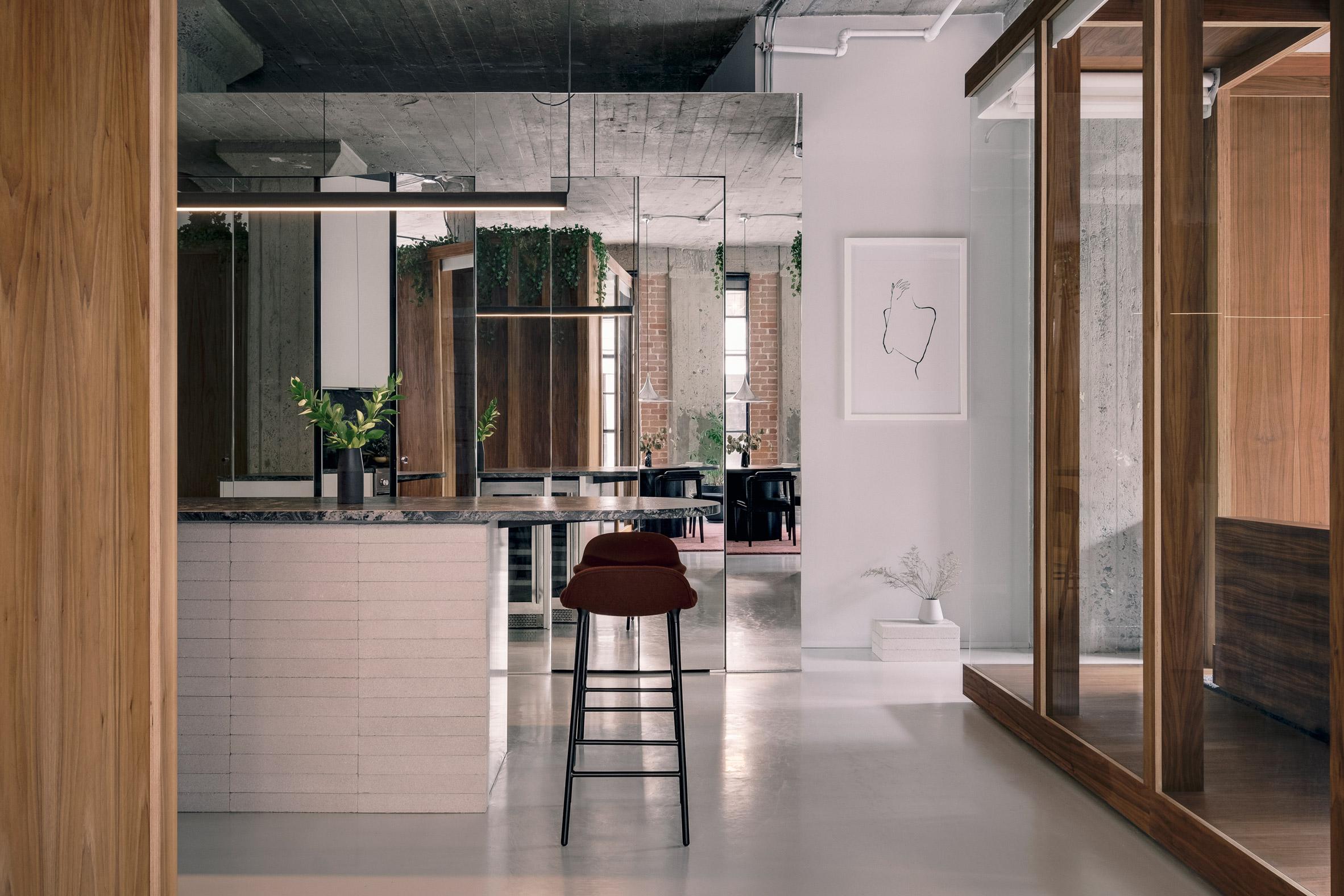 Future Simple Studio designed Rue de la Gauchetière
