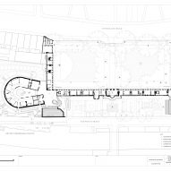 Ground floor plan of the Museum of the Home