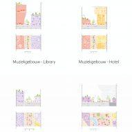 Heuvel shopping centre and Muziekgebouw plans