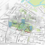 Plans for Eindhoven Heuvel shopping centre and Muziekgebouw