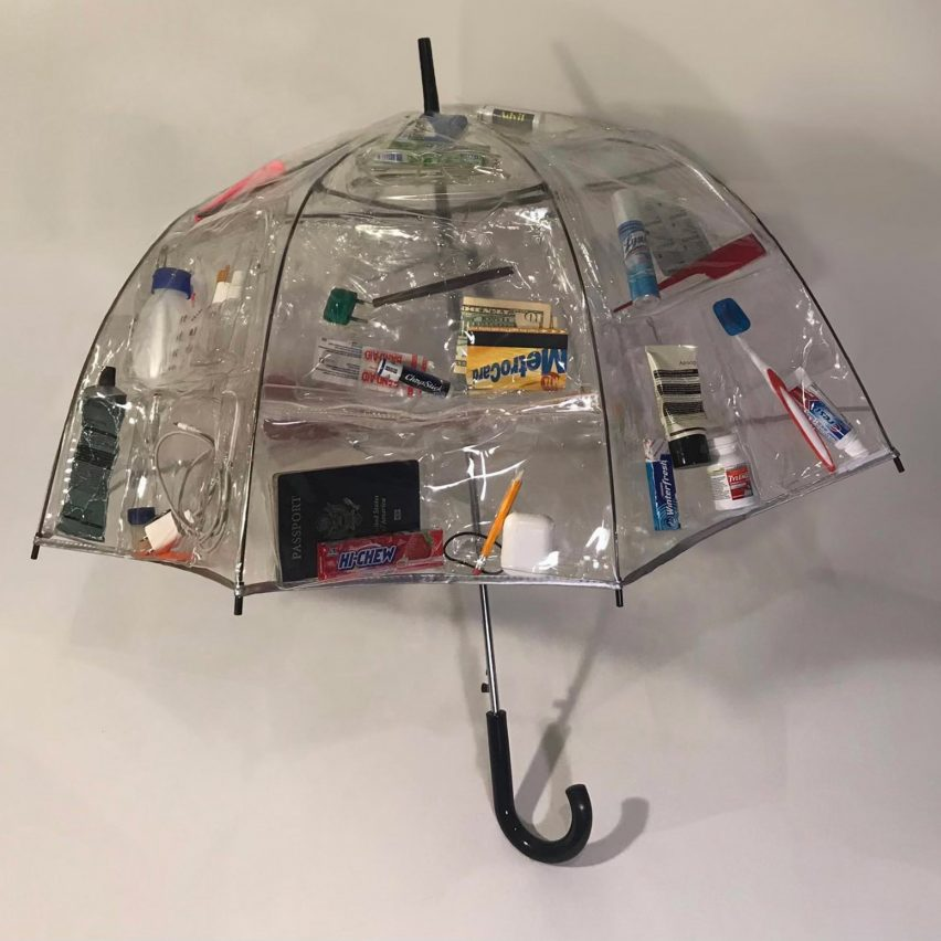 Travel Umbrella by Nicole McLaughlin