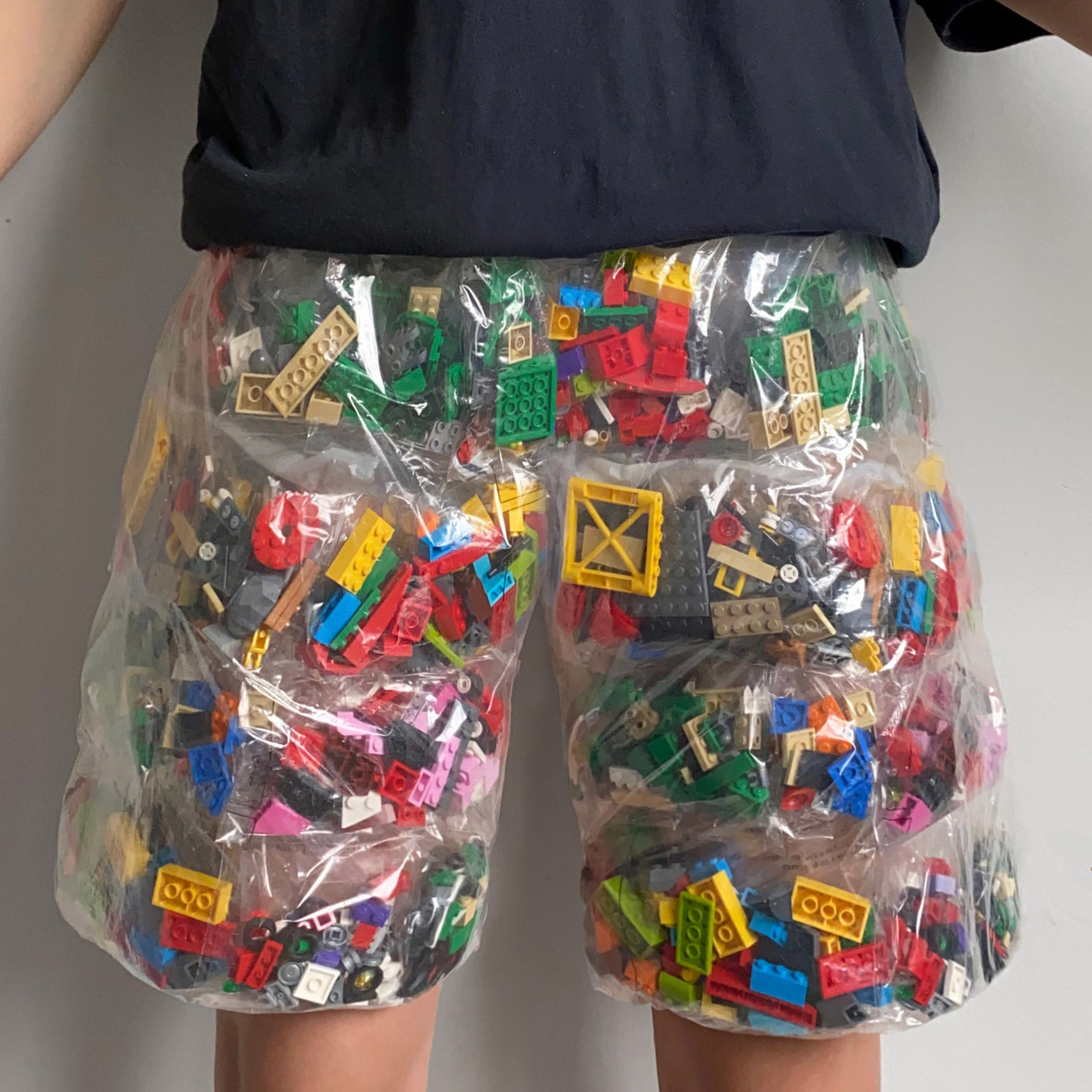 Lego Shorts by Nicole McLaughlin
