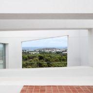 Terraces provide views across the landscape