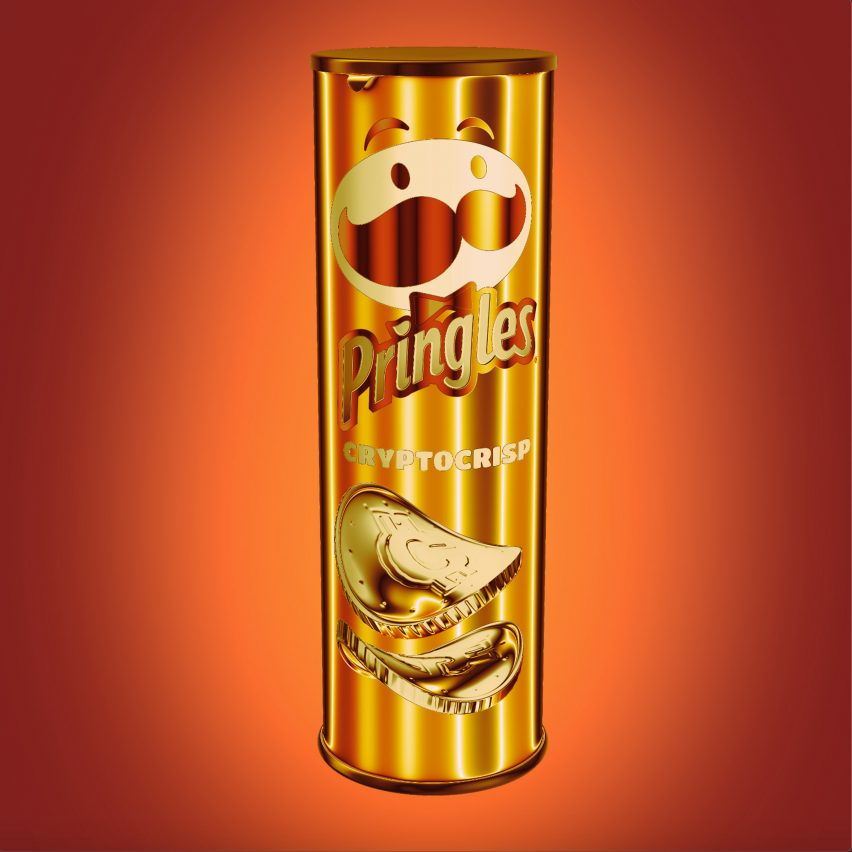CryptoCrisp graphic by Pringles and