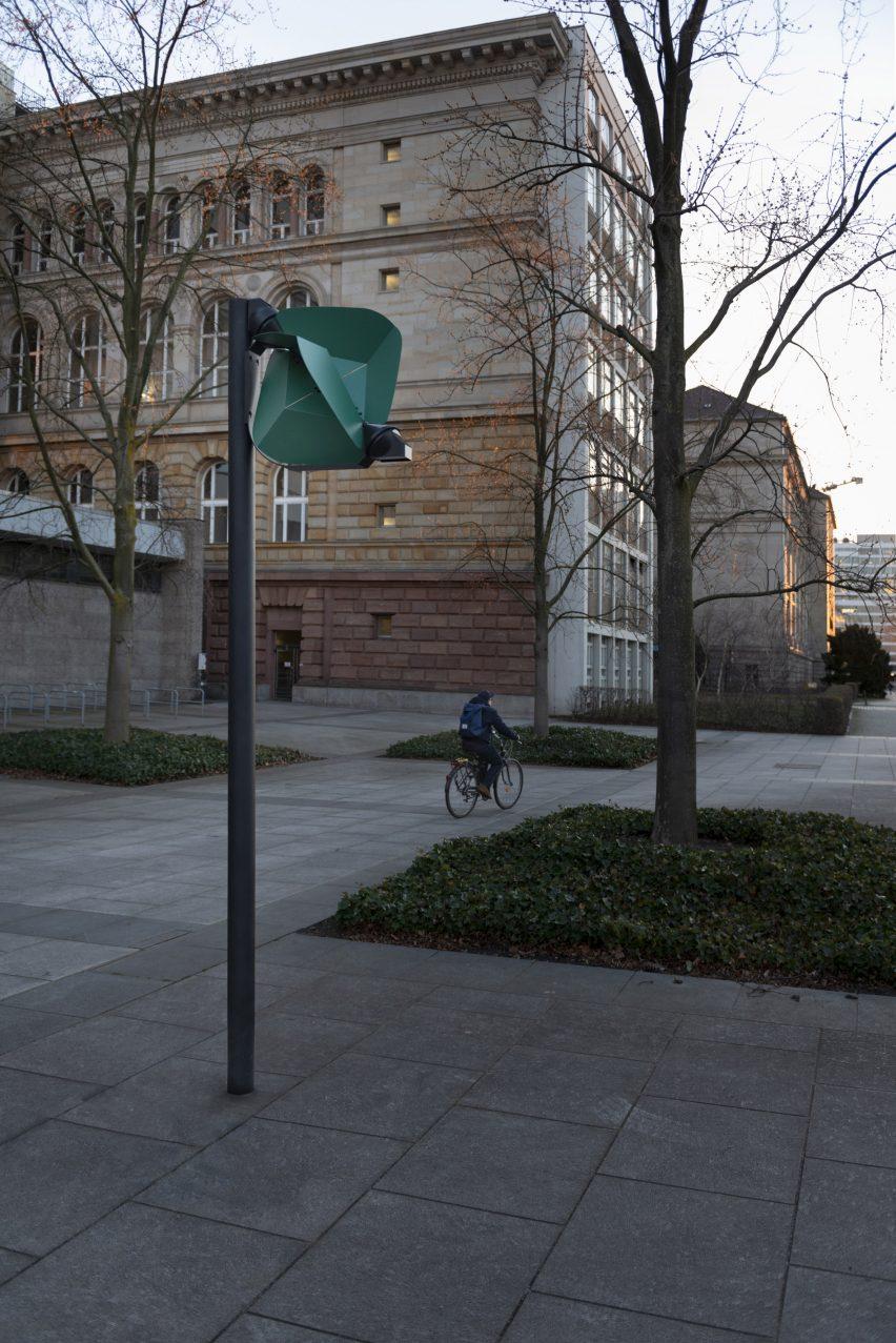 Papilio light on site in Berlin