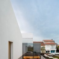 A courtyard is located at the centre of the home