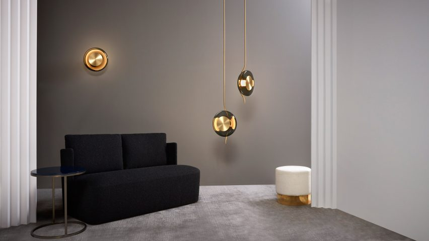 Dan Yeffet designed the Pendulum Collection