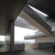 Vector Architects creates network of terraces around Pingshan Art Museum