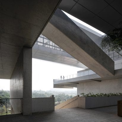 Pingshan Art Museum by Vector Architects