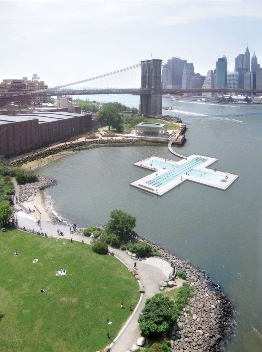 +Pool in the East River