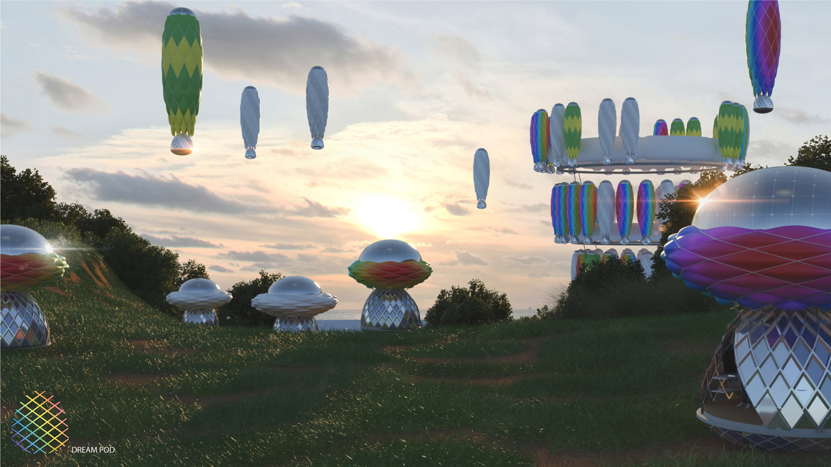 Dream Pods by Populous