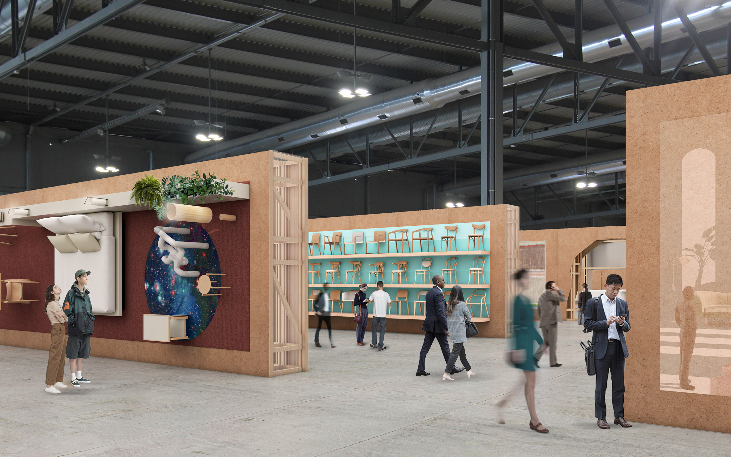 New Salone del Mobile layout for 2021