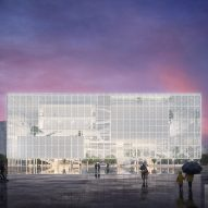 Sou Fujimoto designs Shenzhen exhibition complex with transparent facade
