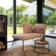 Shuffle sofa by Robert Bronwasser for Jess