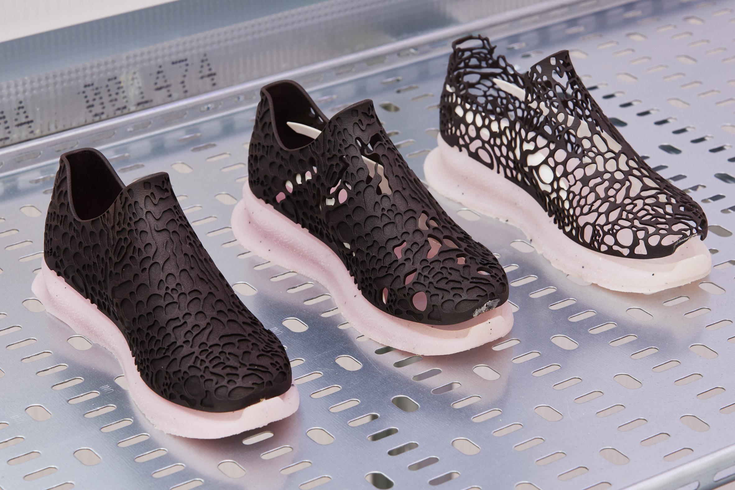 PUMA x MIT Design Lab x Biorealize Breathing Shoe