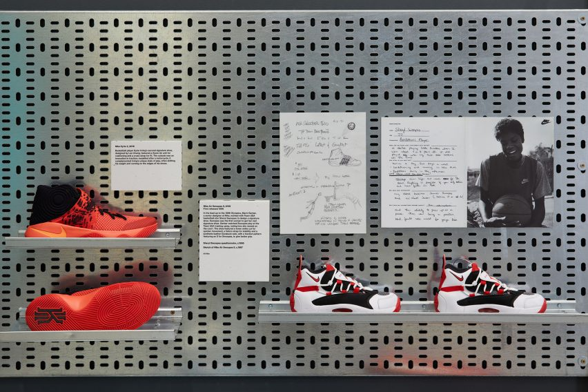 View within Performance section feature Nike Kyrie 2 and Nike Air Swoopes II
