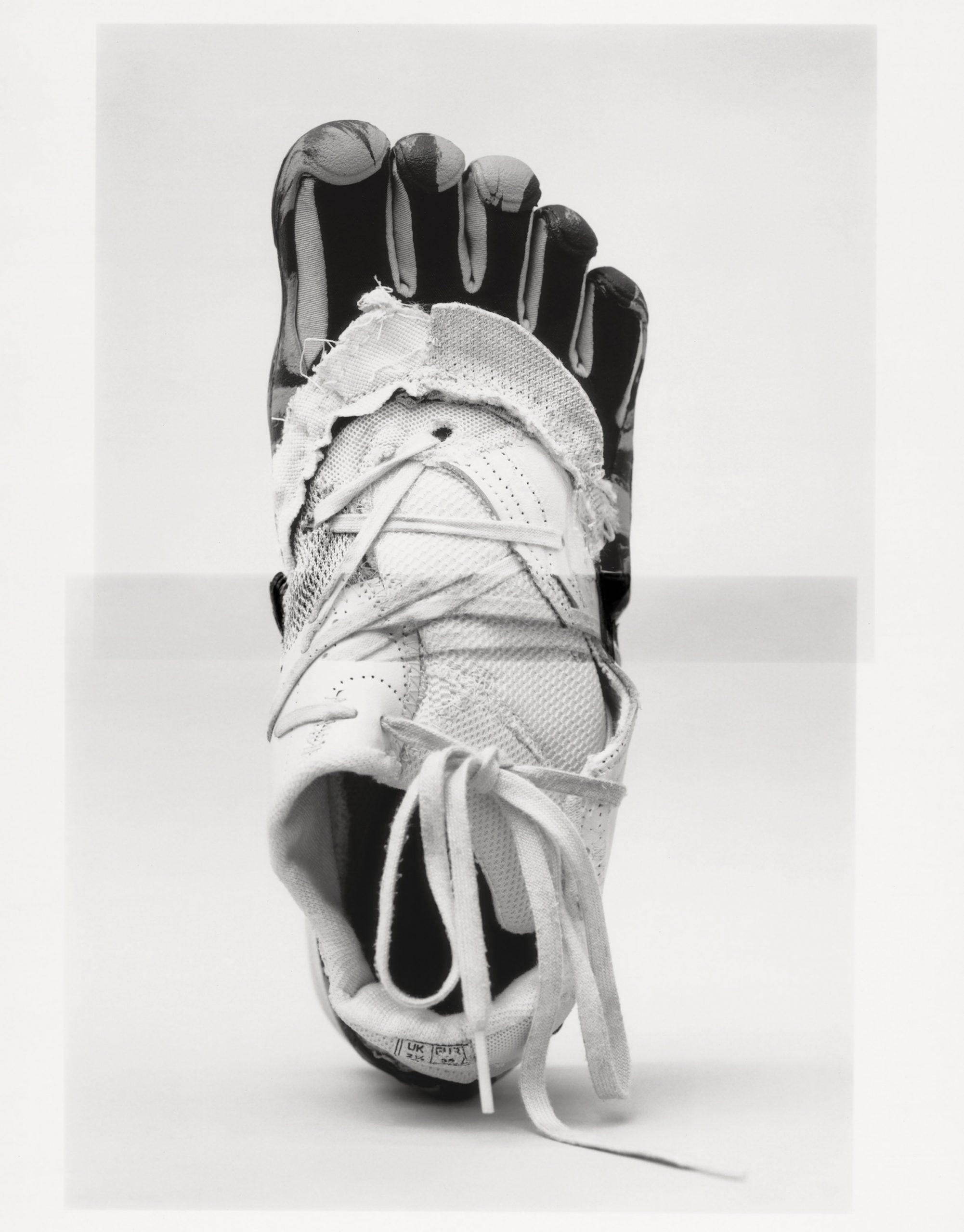 Helen Kirkum x Matthew Needham sneakers featuring Vibram FiveFingers deadstock