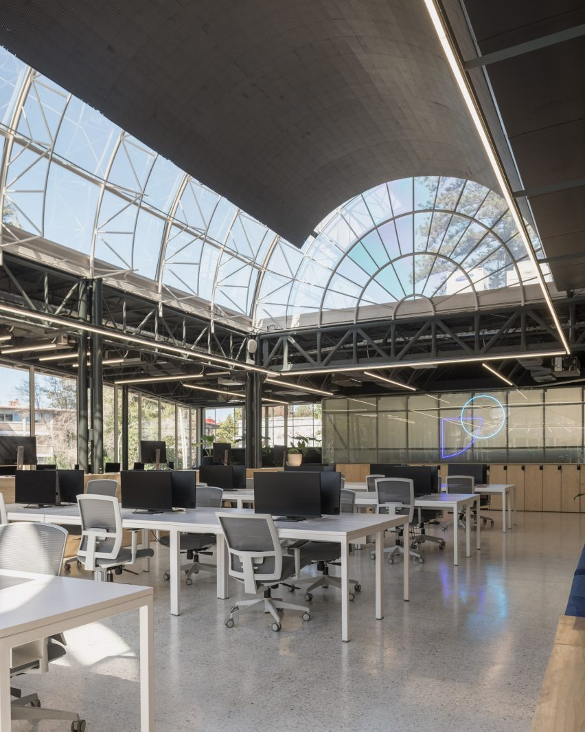 The office is by Studio Cáceres Lazo