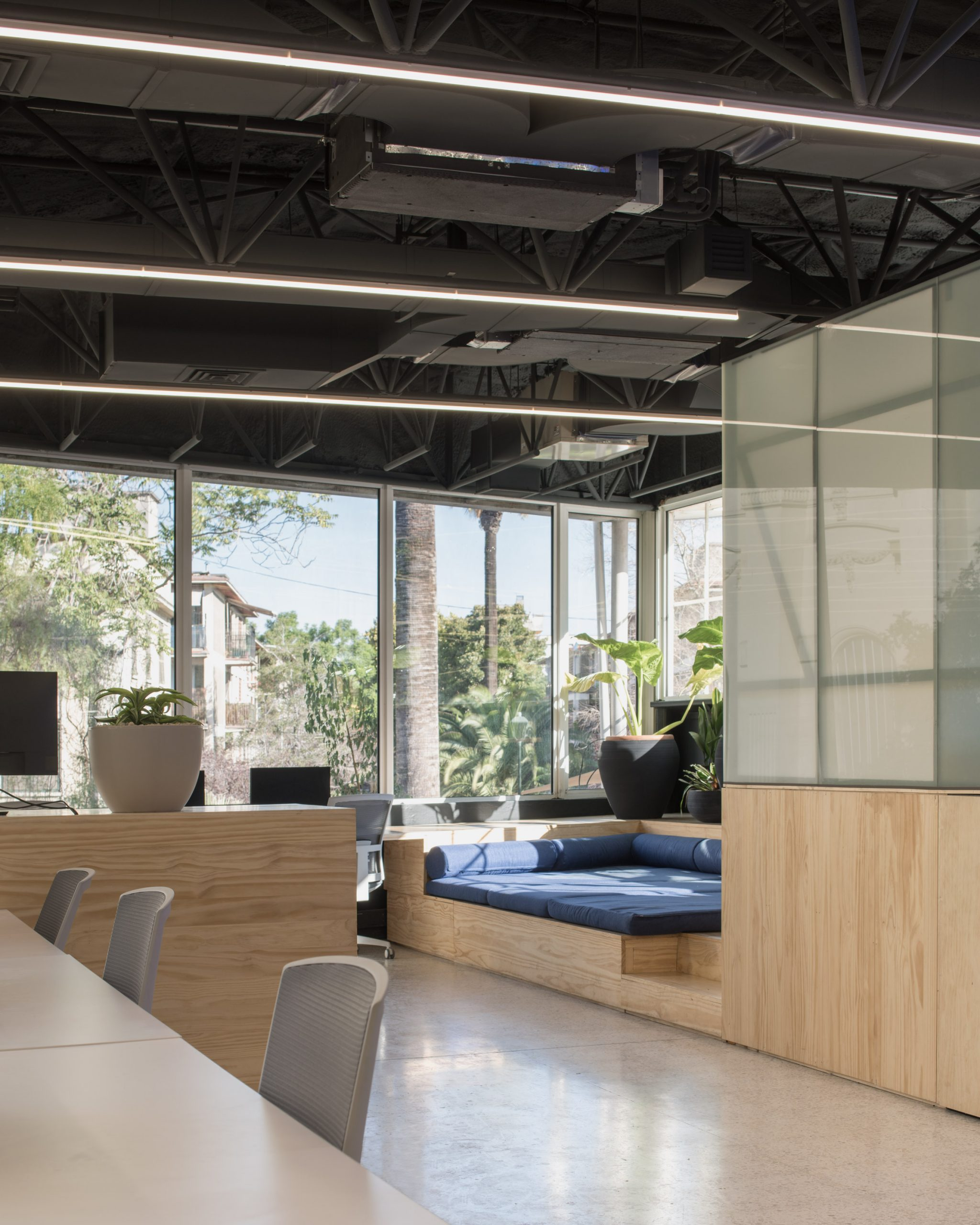 Fintual's office has airy spaces