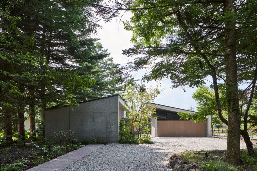 Facade of Symbiotic House for Life After Retirement by READ & Architects