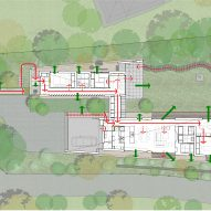 Floor plan of Symbiotic House for Life After Retirement by READ & Architects