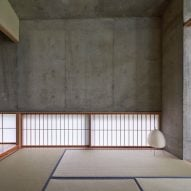 Japanese room in Symbiotic House for Life After Retirement by READ & Architects