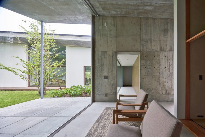 Lounge of Symbiotic House for Life After Retirement by READ & Architects