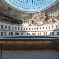 Panoramic view of the rotunda