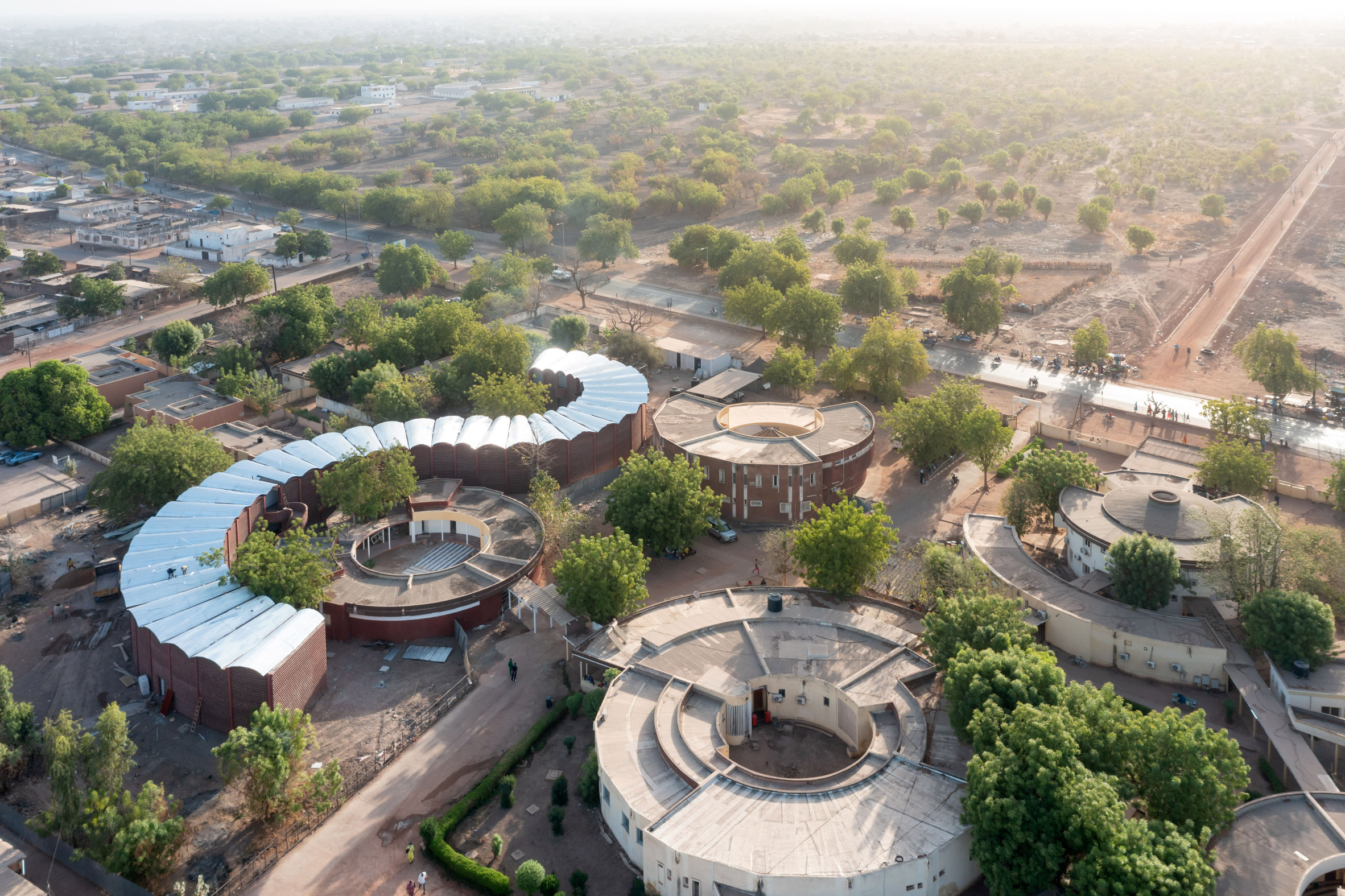 Maternity and Paediatric Hospital in Tambacounda, Senegal, by Manuel Herz Architects