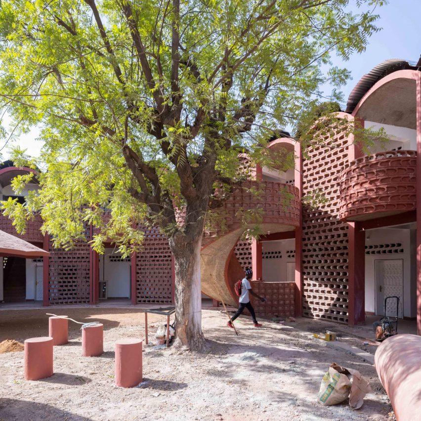 Maternity and Paediatric Hospital in Tambacounda, Senegal, by Manuel Herz