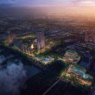 Foster + Partners unveils masterplan for forested neighbourhood in Bangkok