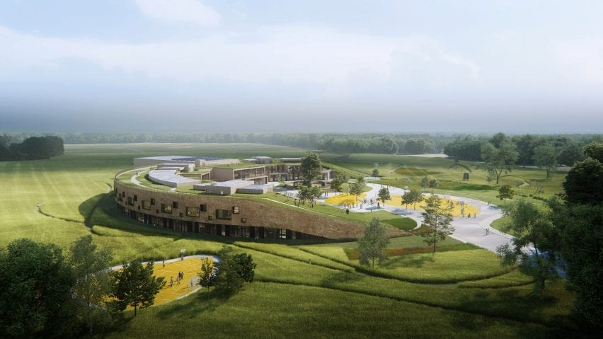The New School will have a green roof