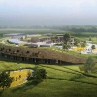 Henning Larsen begins construction on sustainable school with walkable roof