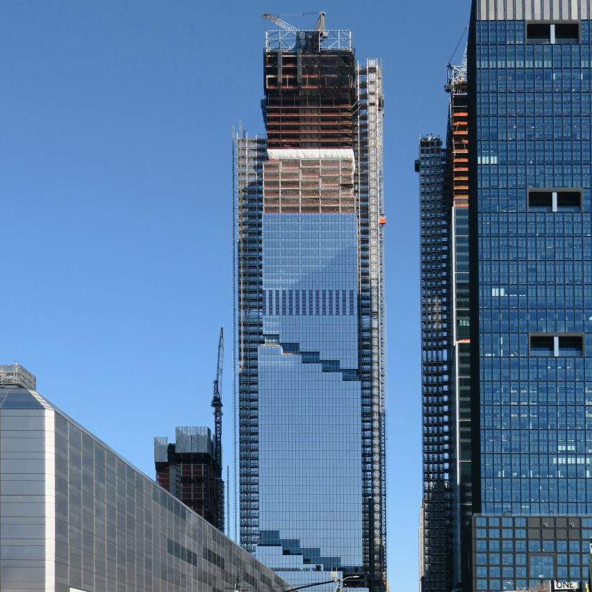 Photos reveal BIG's supertall skyscraper The Spiral under construction in New York