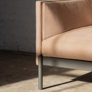 Detailing on a modular Total sofa by Part & Whole