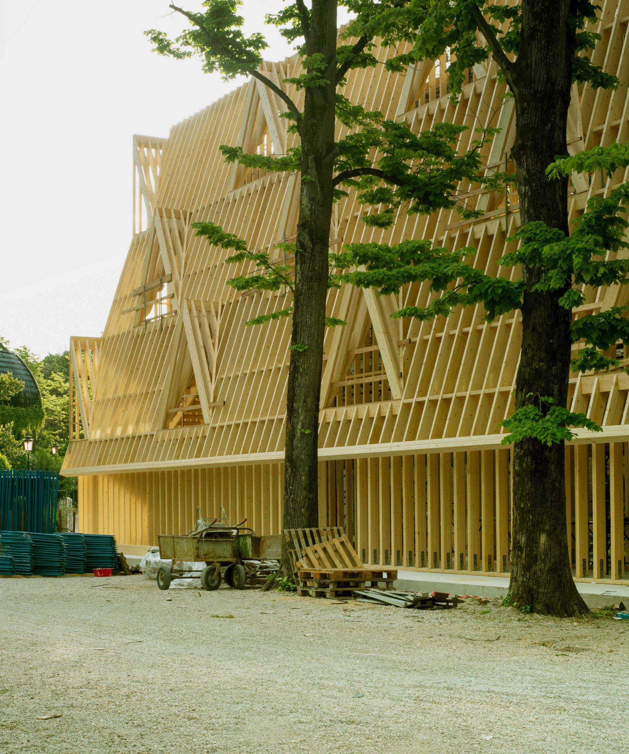 The US pavilion at the Venice Architecture Biennale