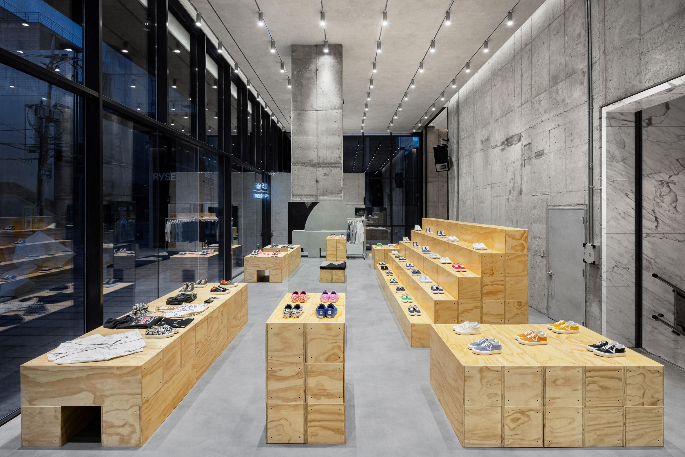 Andrea Caputo-designed Vans store
