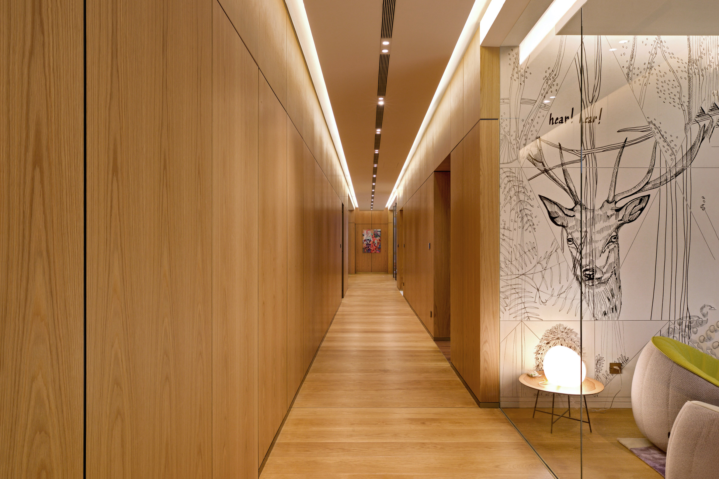 Home in China with walls by Lualdi